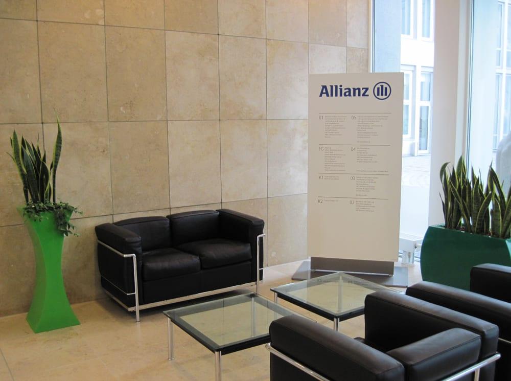 Allianz Gebäedeübersicht Monolith Interior