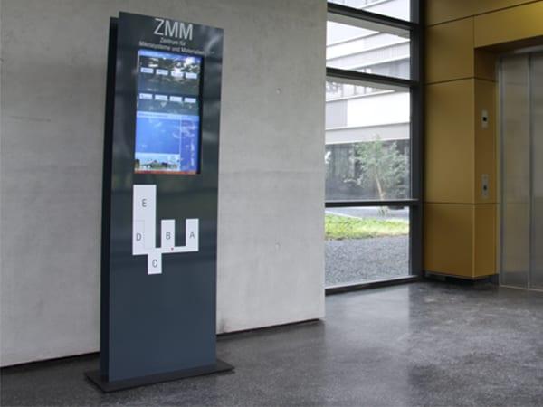 Digital Welcomeboard