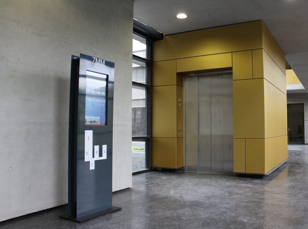 WISTA Digitales Informationssystem Interior