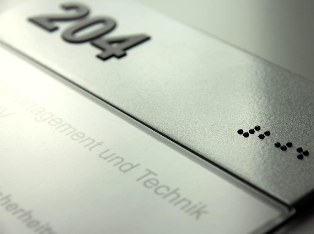 ADA und Braille Leitsysteme