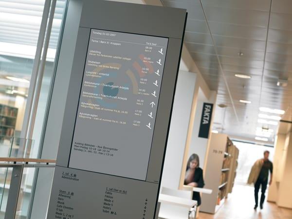 informations display