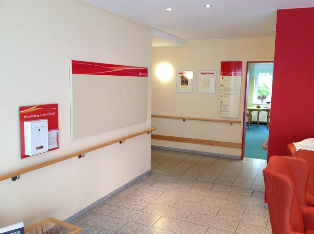 Kursana Beschilderungssystem Wandschilder Interior