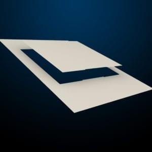 messenger-Pacific-tuerschild-papier-157er-kopf-paneel-creme