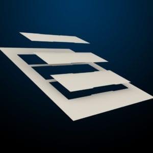 messenger-Pacific-tuerschild-papier-61er-kopf-paneel-creme