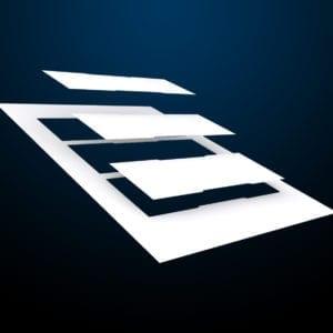 messenger-Pacific-tuerschild-papier-61er-kopf-paneel-weiß