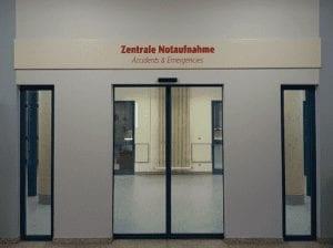 EVKB Eingansbezeichnung Interior Beschilerungssystem