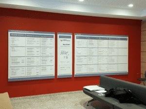EVKB Hauptwegweiser Interior Beschilerungssystem