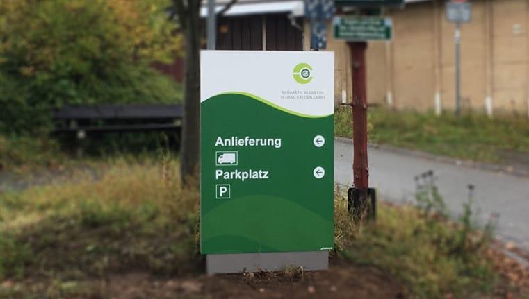 Elisabeth Klinikum Schmalkalden Monolith exterior Zielinfo header