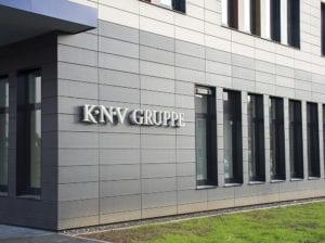 KNV Acryl Buchstaben Exterior Fassadenbeschriftung