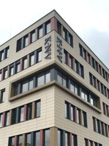 KNV Fassadenbeschriftung