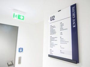 KNV interior Wandschild Übersicht