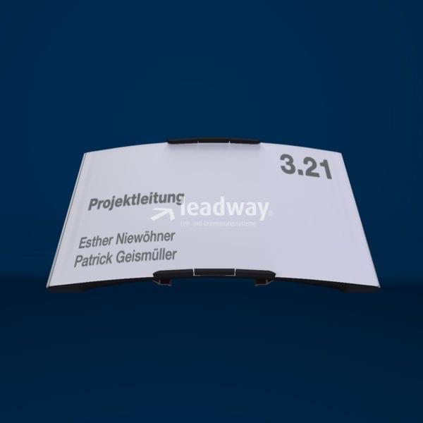 Modulex Pacific interior paperflex 93 Türschild