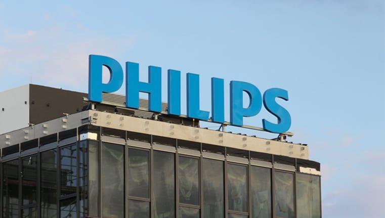 Philips header Leuchtwerbeanlage
