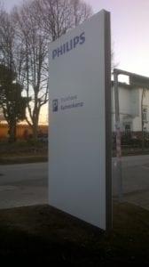 Philips Leitsystem Monolith Exterior