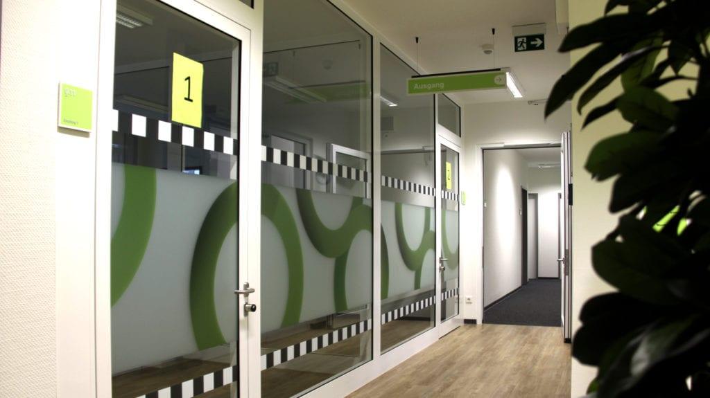 Jobcenter Reinbek Leitsystem