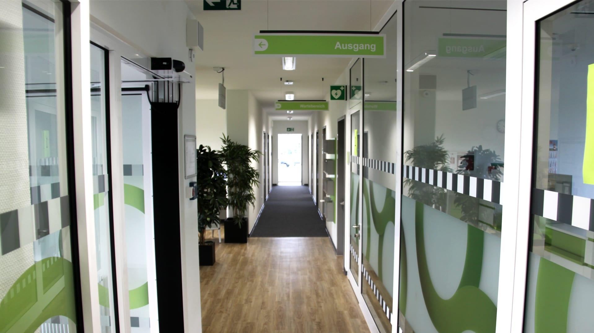 Jobcenter Reinbek Wegeleitsystem