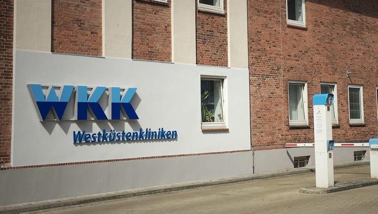 WKK Klinik Leuchtwerbeanlage Leadway Header