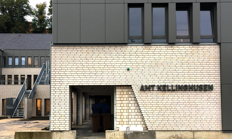 Amt Kellinghusen Acrylbuchstaben Leuchtwerbeanlage