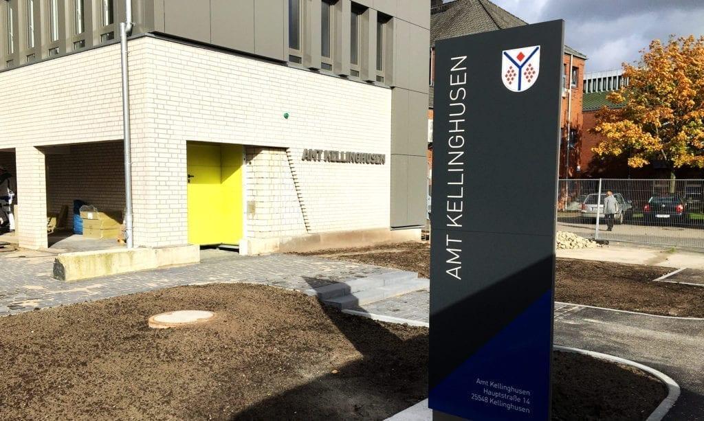 Amt Kellinghusen Monolith Zielinformation
