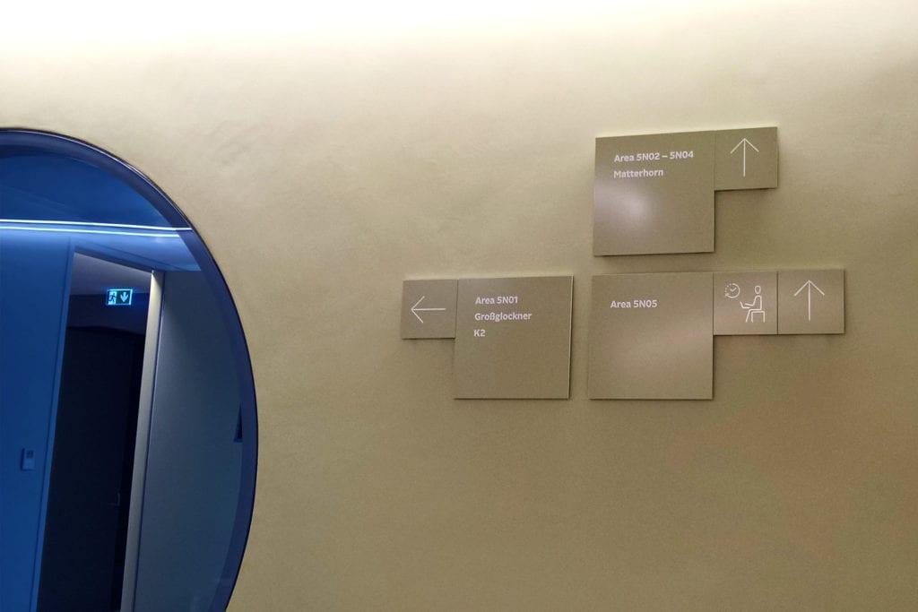 Leadway Otto Wandschild Orientierungssystem