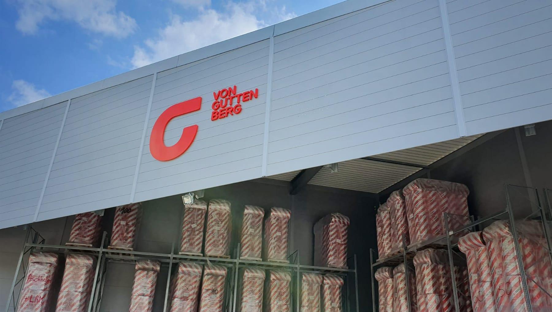 Rebranding für von Guttenberg in Aschheim bei München
