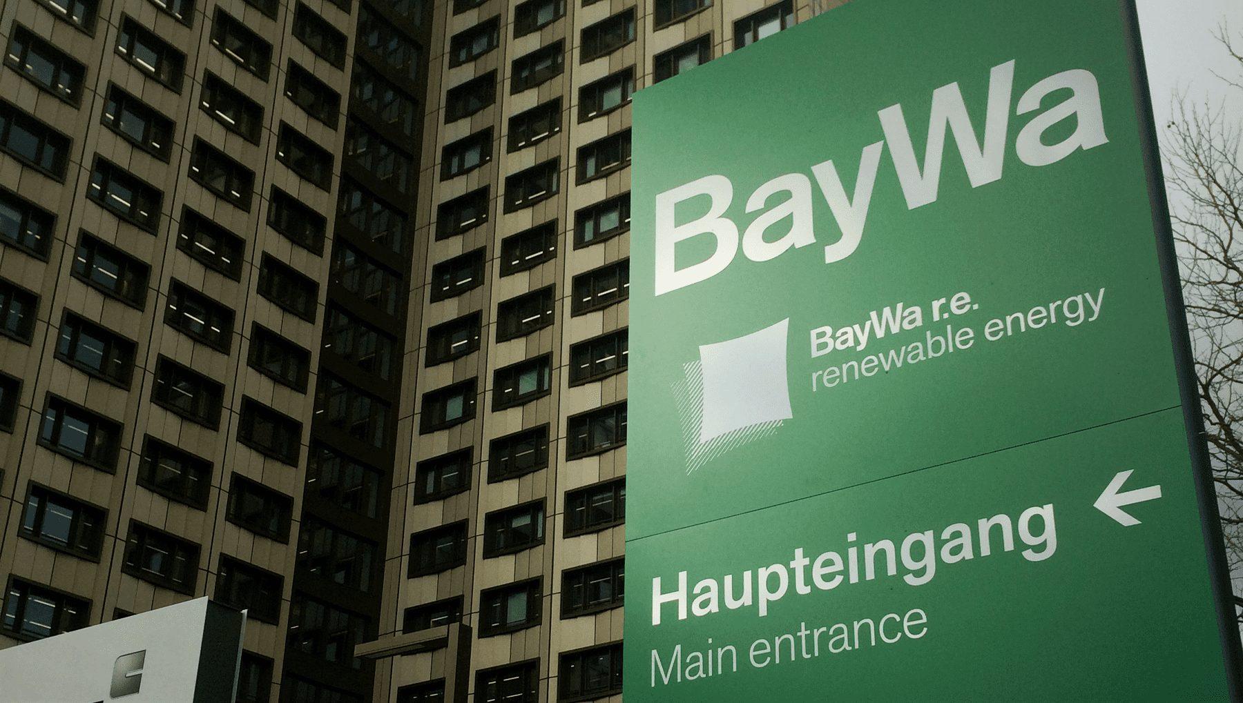BayWa Konzernzentrale ab sofort mit E-Tankstelle