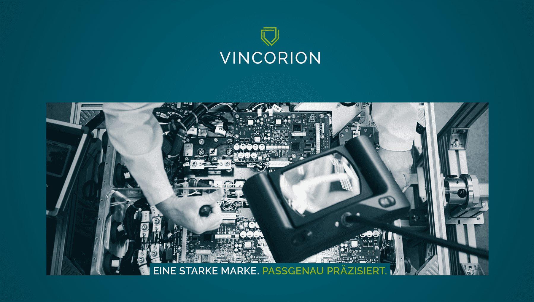 Vincorion Rebranding Teil 2 – Industriezentrum Wedel