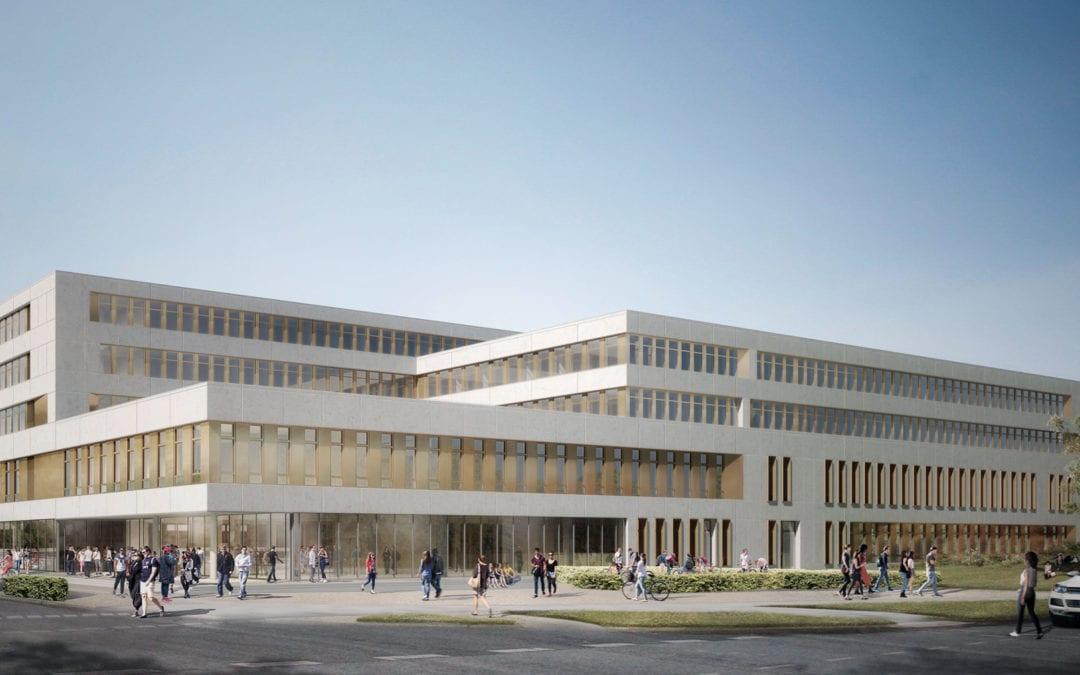 Juridicum Uni Kiel – Der Neubau steht vor der Finalisierung