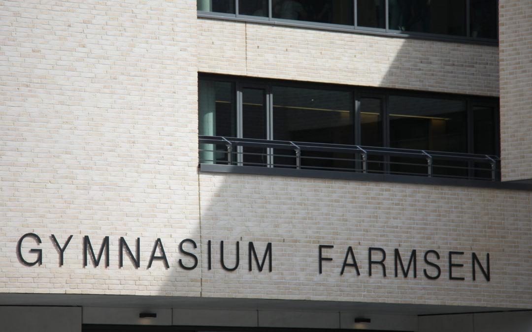 Gymnasium Farmsen – Die Schule im Grünen mit neuem Außenleitsystem