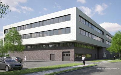 Zentrum für Zukunftstechnologie – Die Monolithen sind auf dem Weg