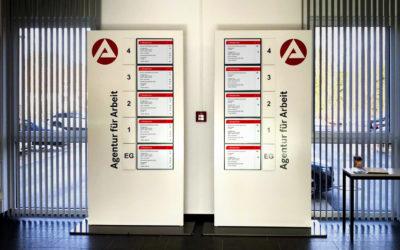 Agentur für Arbeit Kassel – Mit dem neuen Leitsystem zum richtigen Ziel