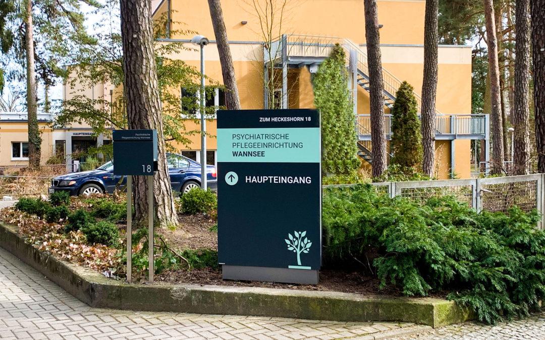 Frischer Wind für die Psychiatrische Pflegeeinrichtung Wannsee
