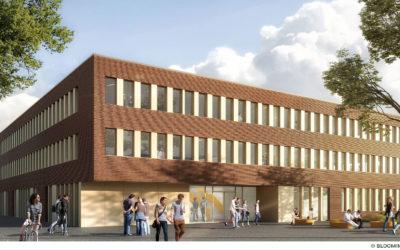 CAU zu Kiel – Neubau des Mathematischen Seminars kurz vor der Vollendung