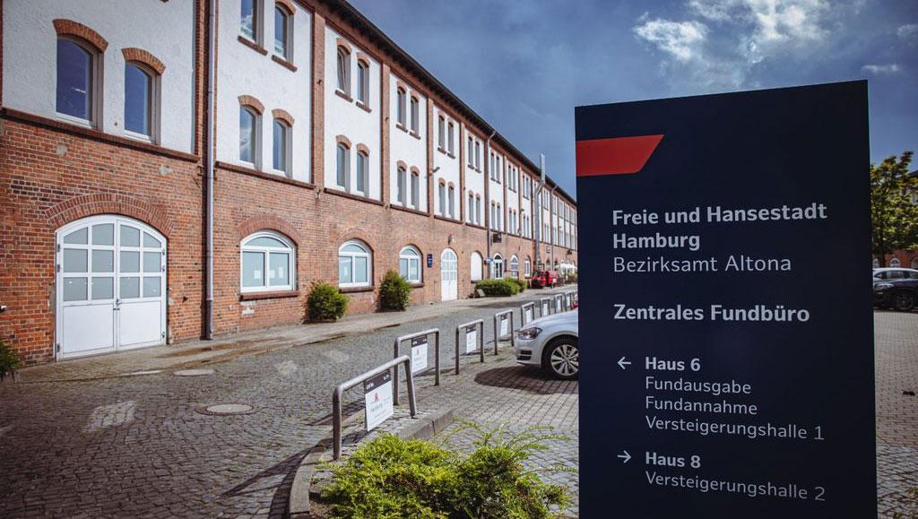 Neues Leitsystem für das größte Fundbüro in Deutschland