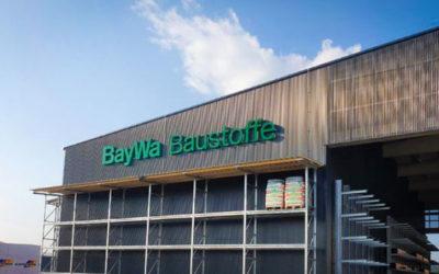 BayWa Baustoffe – Erste Standortgestaltung im neuen Layout