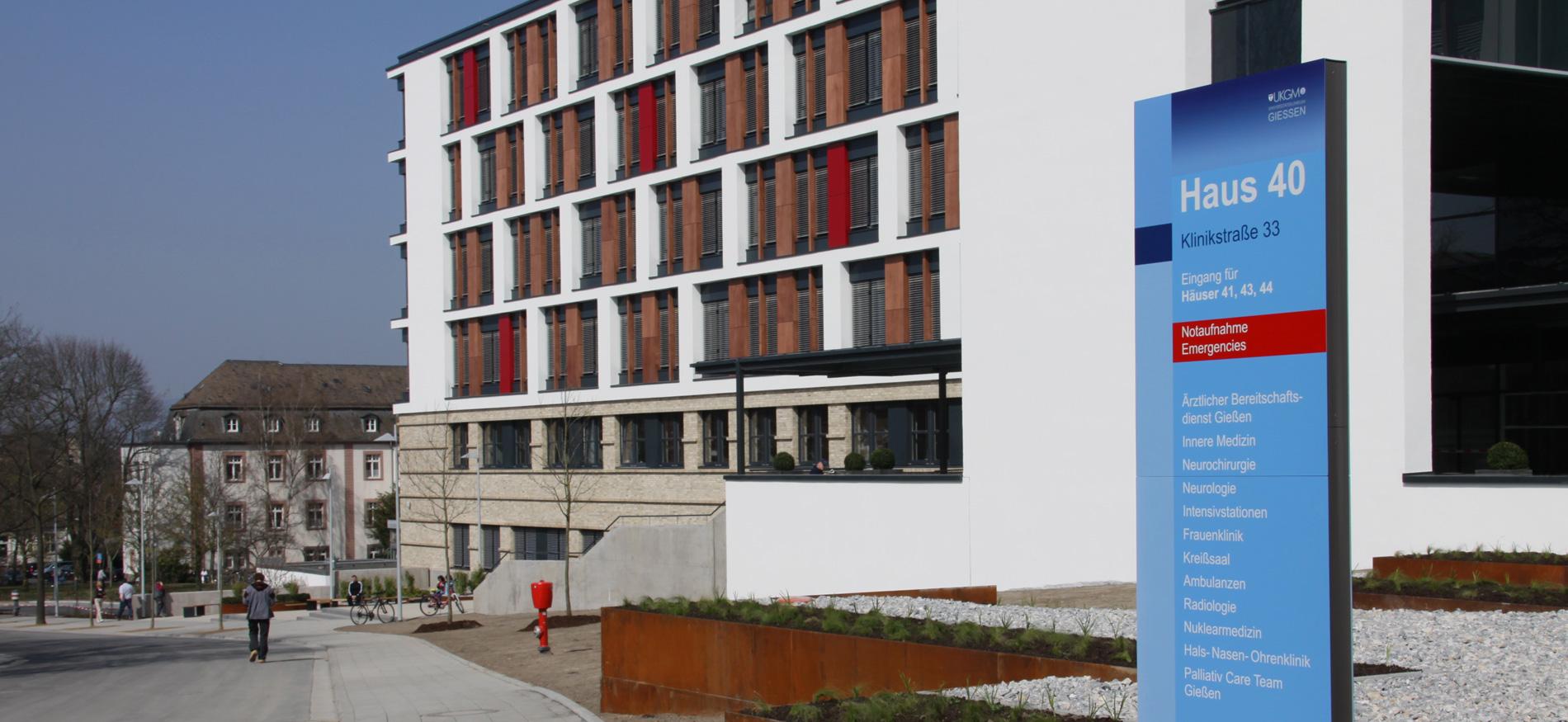 Leadway UKGM Universitätsklinikum Giessen Leitsystem